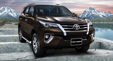 Toyota Fortuner 2.7 V –Brand new -Model  2020